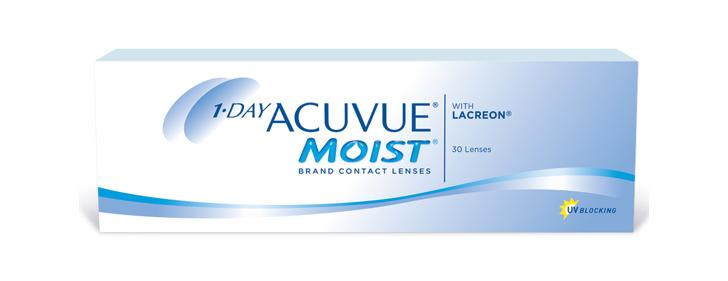 1-Day ACUVUE® MOIST® Brand