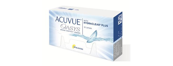 ACUVUE® OASYS® Brand with HYDRACLEAR® PLUS