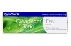 ClearSight™ 1 day toric